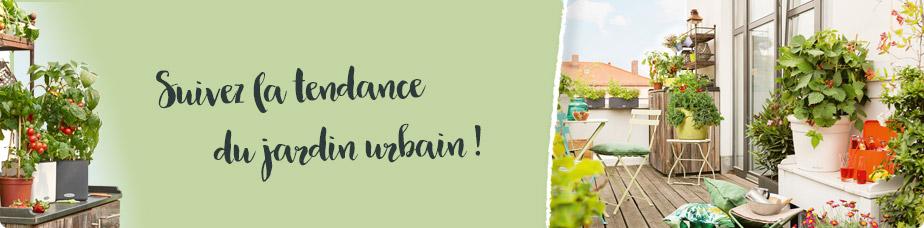 Suivez la tendance du jardin urbain !